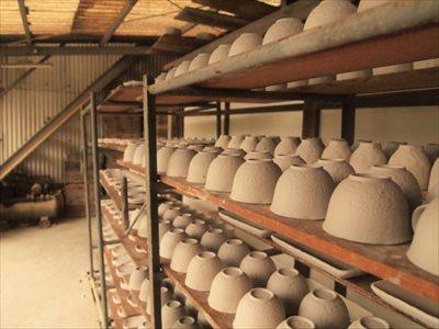 陶器ができるまでの工程