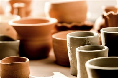 陶器に使用する土の違いと特徴